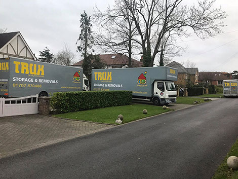 our top removals vehicle