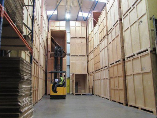 our secured container storage